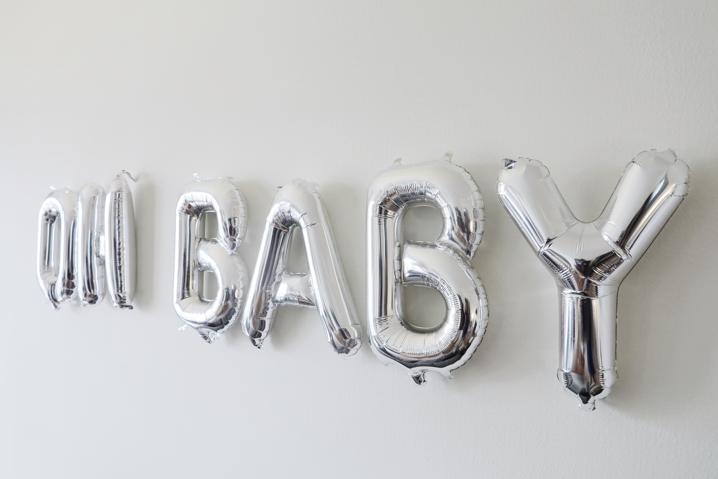 Letter Balloons from Oh Happy Day Shop