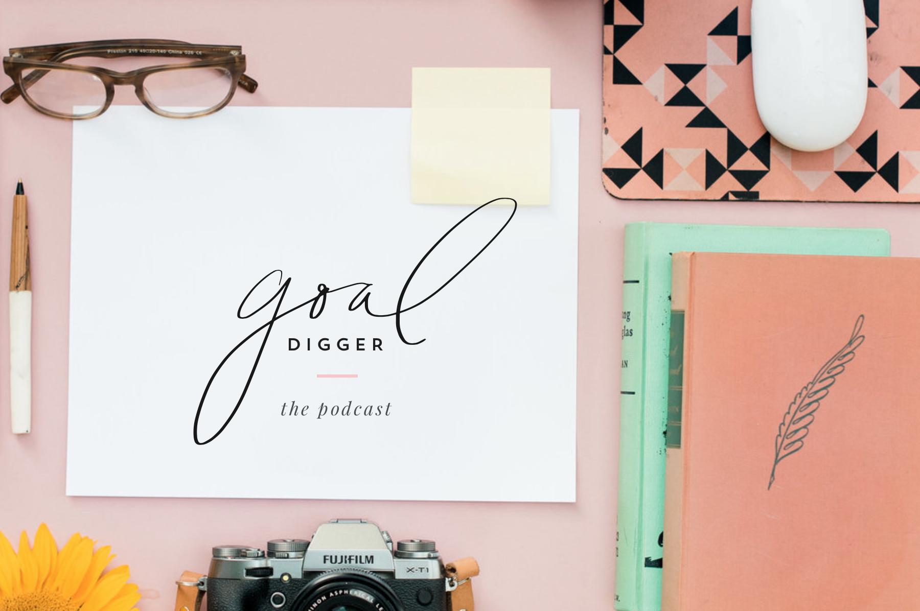 The Goal Digger Podcast via  Jenna Kutcher