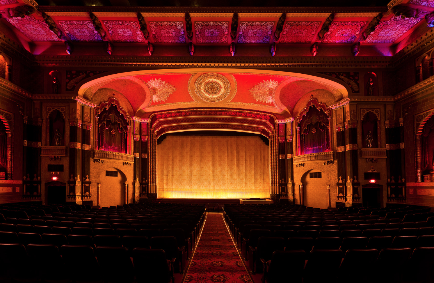 The Oriental Theatre  | 2230 North Farwell Avenue Milwaukee, WI 53202 /We saw  Gifted .