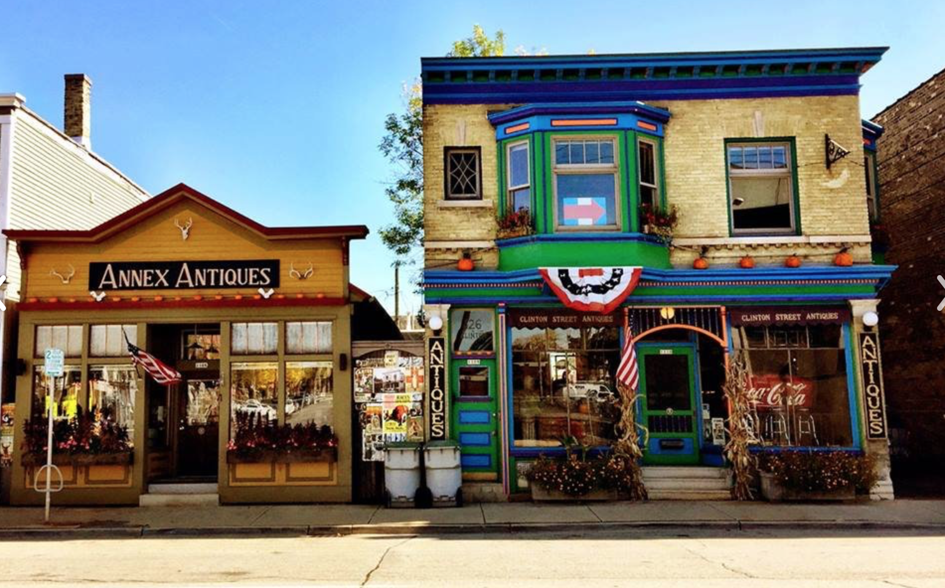 Clinton Street Antiques  | 1106 + 1110 South First Street Milwaukee, WI 53204