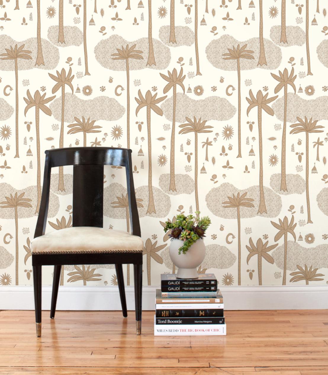 Cosmic Desert Removable Wallpaper Tiles via  Hygge & West ($58 for set of 2)