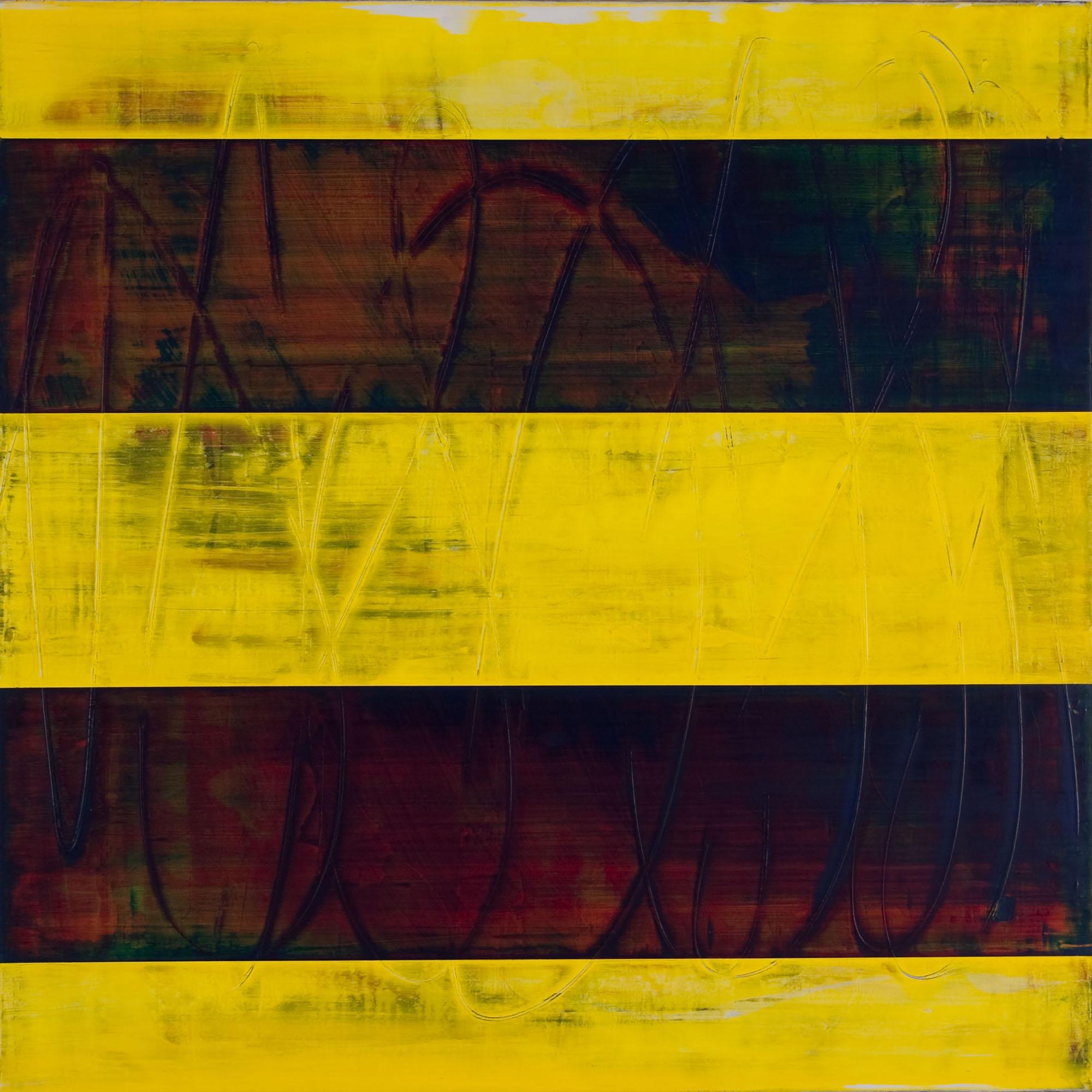"""ambiophony   2014  acrylic on panel  24"""" x 24"""""""