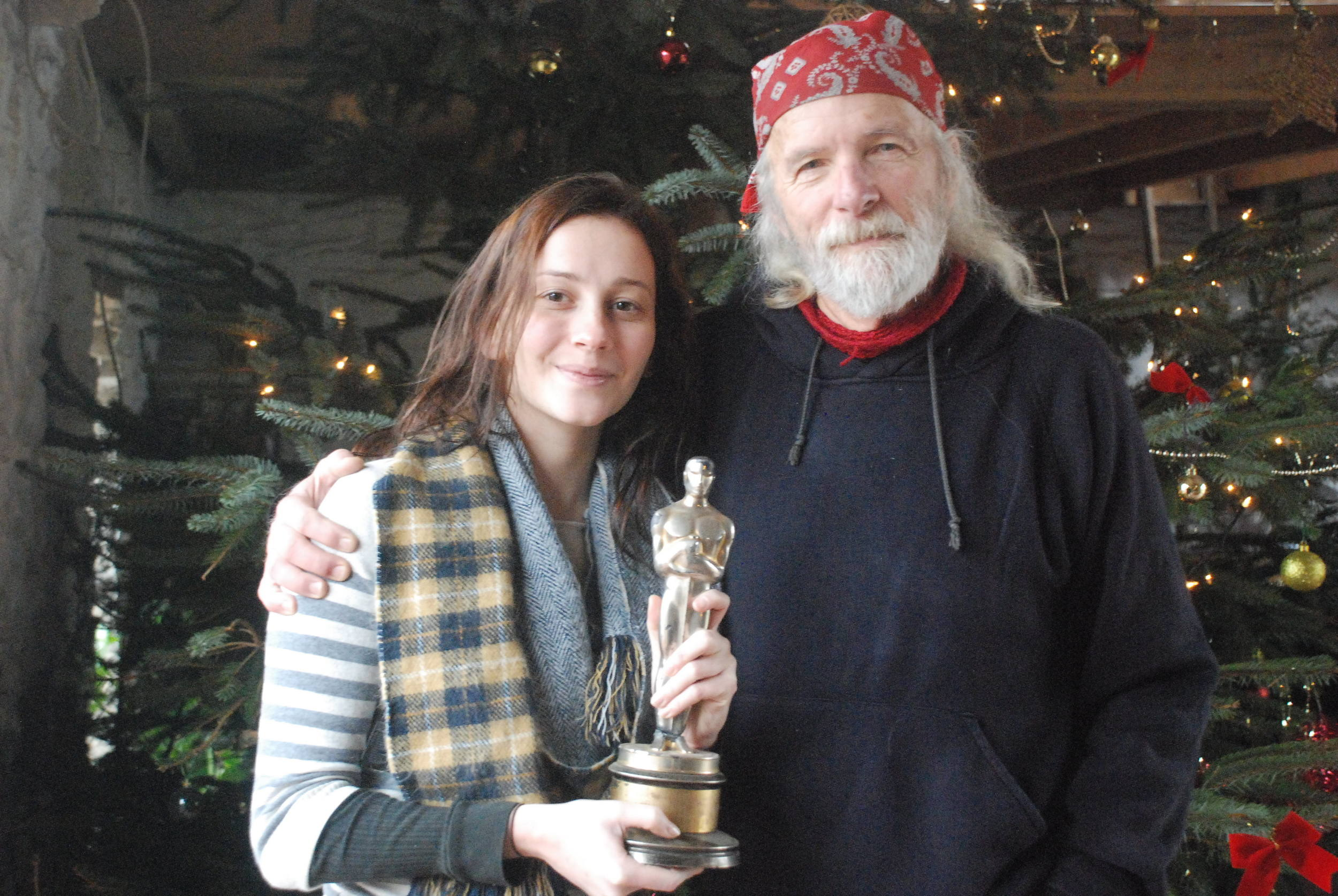 The man himself - He refused to take a photo with the Oscar unless I was the one who was holding it!