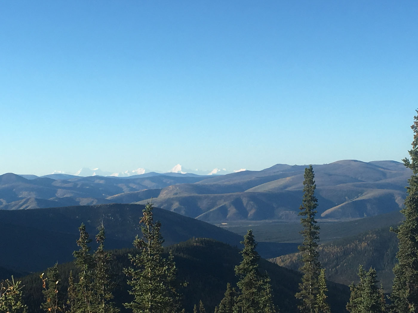 Can you see Denali in the distance?
