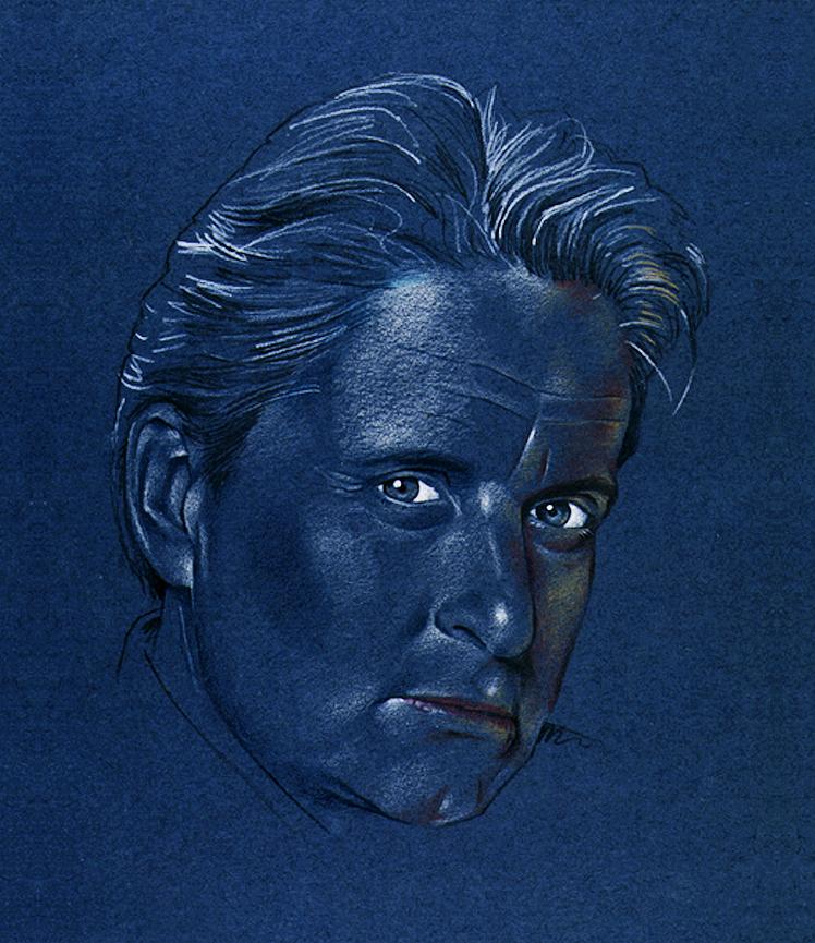 Michael Douglas portrait