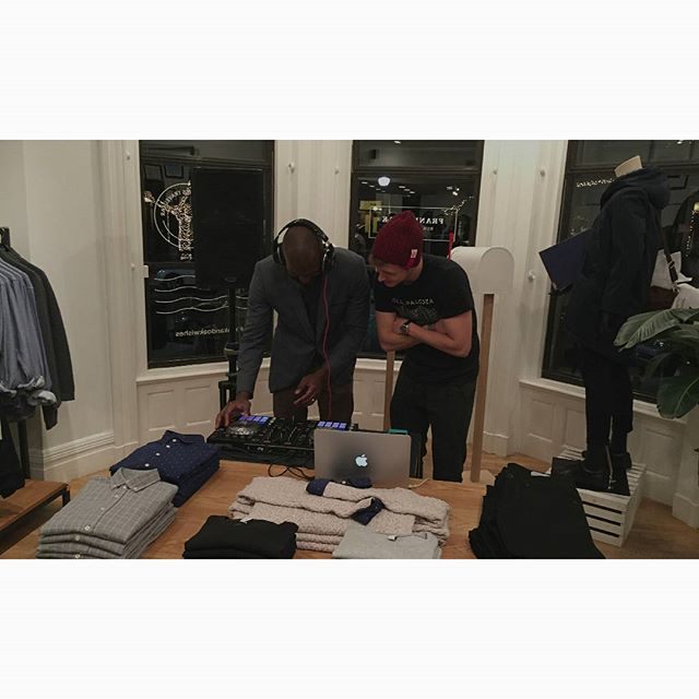 @chopboyard Got the store goin' up, on a Wednesday. 📷 @corisuemorris  #frankandoak
