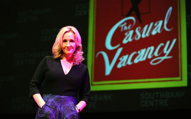 J.K. Rowling: The Casual Vacancy -