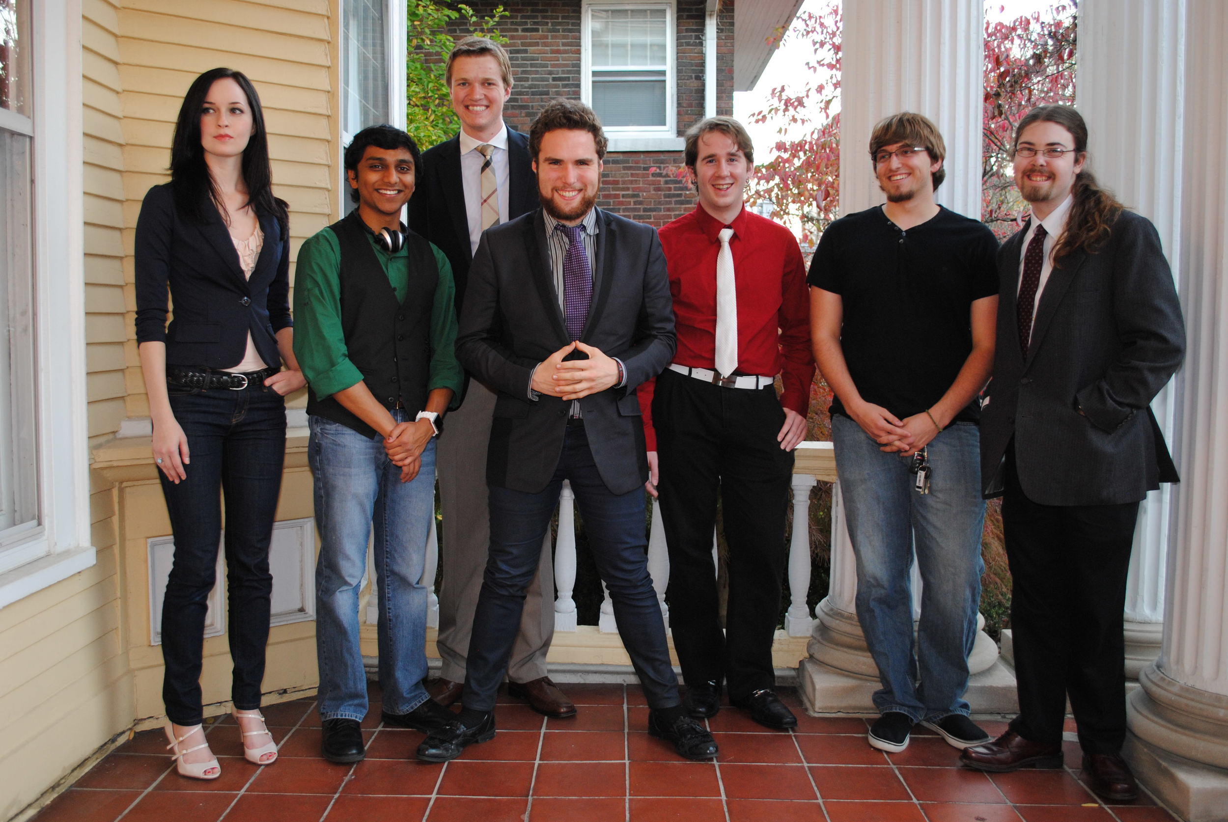 Members of the Holon Publishing Team.