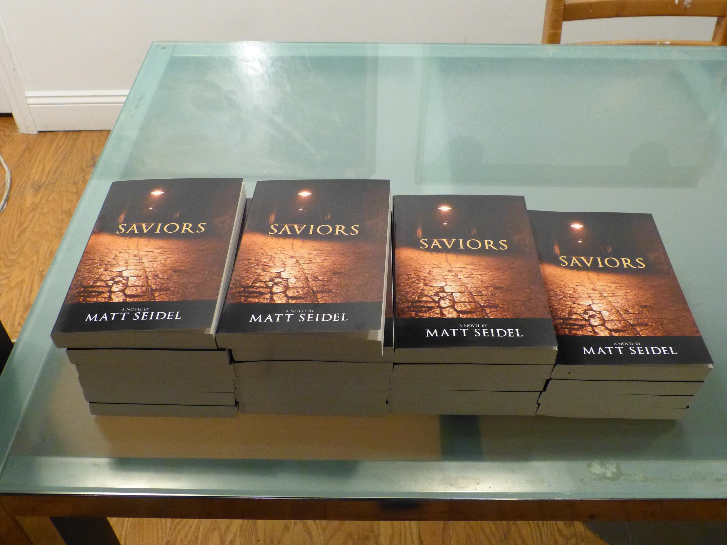"""""""Saviors"""" a Novel by Matt Seidel"""