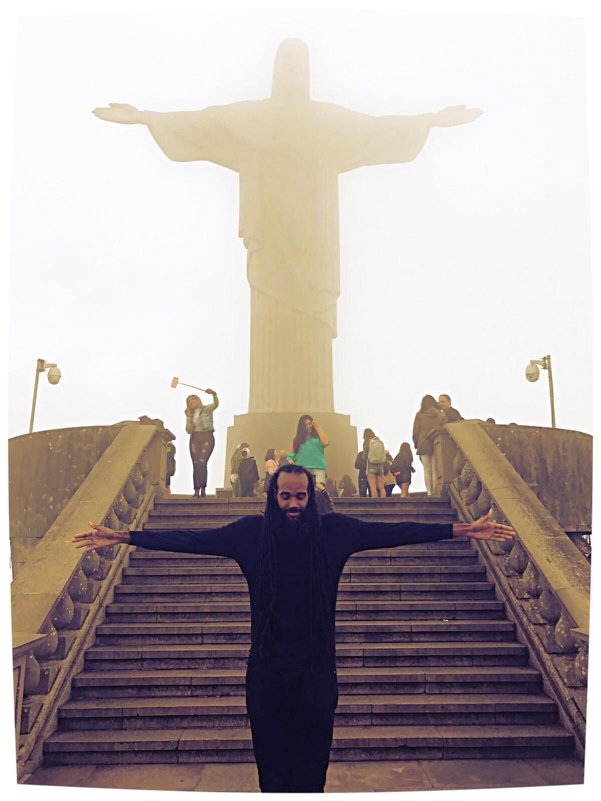 At Cristo Redentor, Rio De Janiero