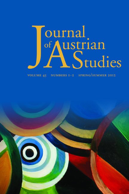 Journal of Austrian Studies