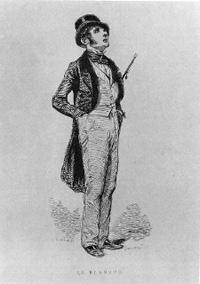 Paul Gavarni, Le Flaneur (1842)