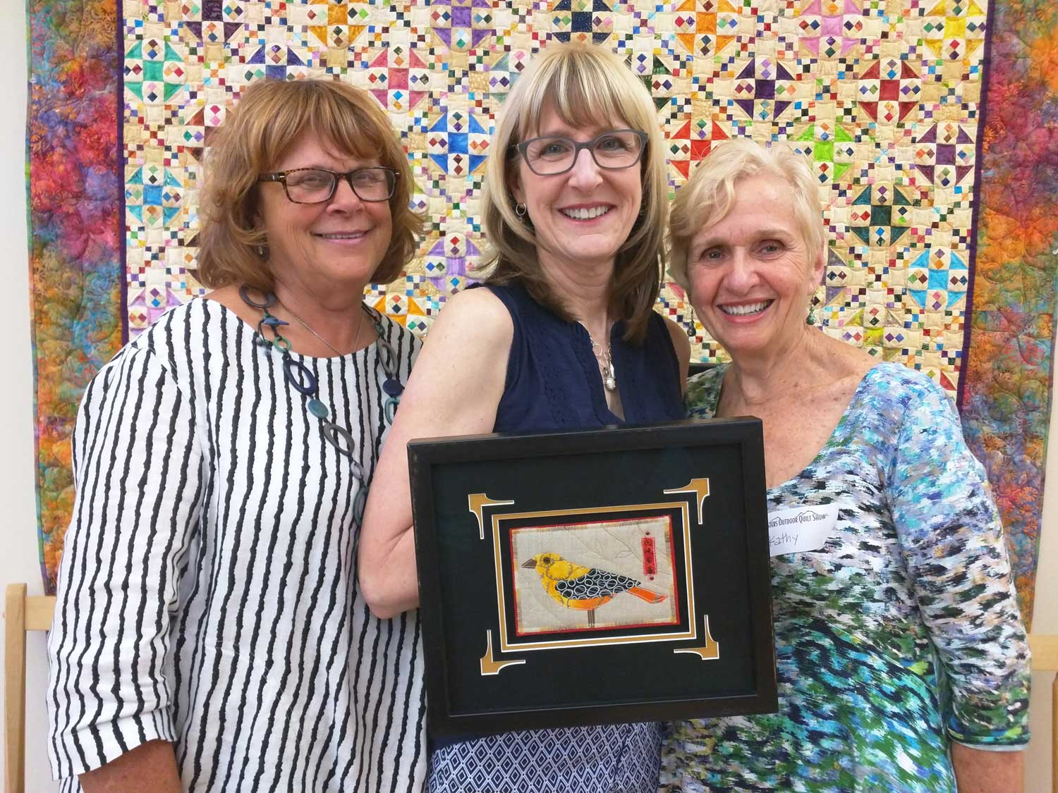 Ginny, Myrna and Kathy. Ginny and Kathy have been the co-chairs of the WUAC project the last two years and have done a fantastic job! Thanks to the both of you!