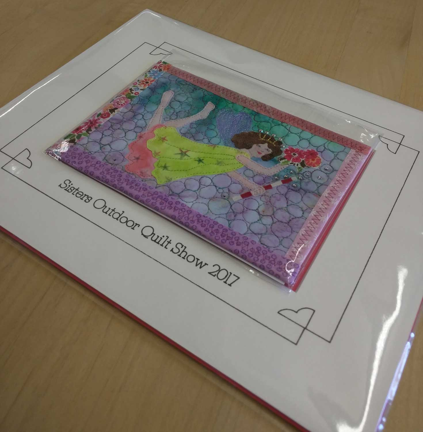 """A Very Limited amount of special mats are available. The special mat will frame your fabric post card or any 4"""" x 6"""" photograph. Great gift idea?"""