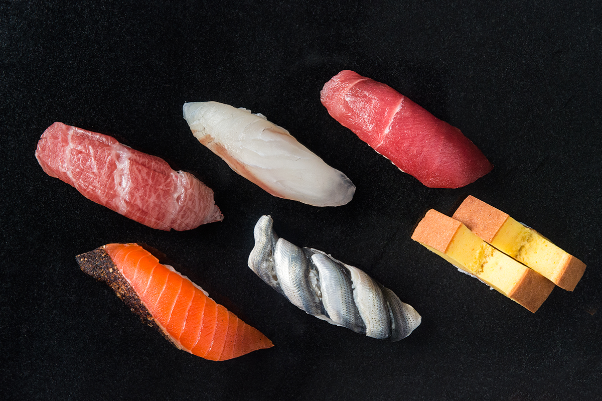 3. Sushi Nakazawa - Destination sushi spot for high-end omakase (multicourse, chef's choice meals) in spare digs.