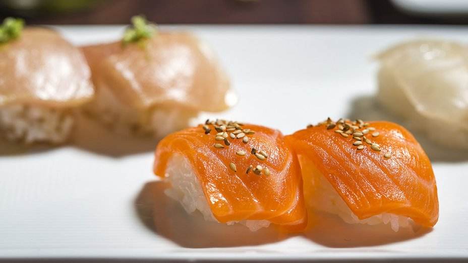 10. Sugarfish - Celebrated local sushi chain serving traditional rolls & sake in a chic, intimate space.