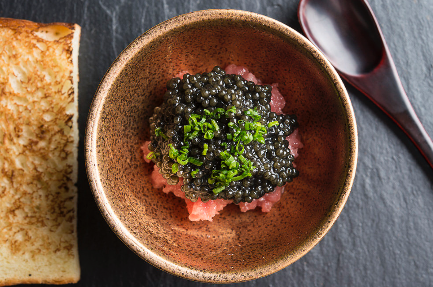 7. Shuko - Compact, omakase-only Japanese choice for upscale sushi or more elaborate kaiseki meals.