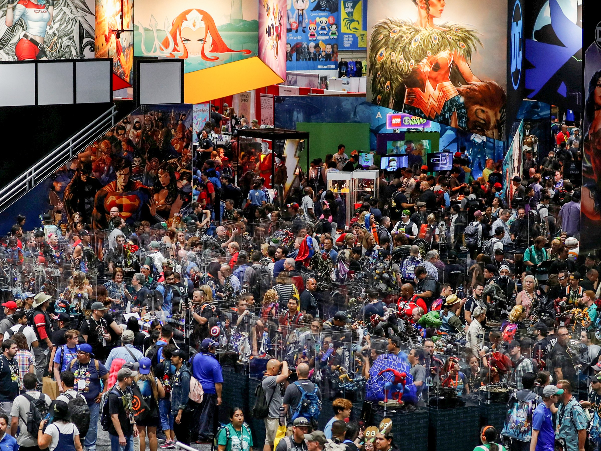 Comic Con SD - July 18th - 21st