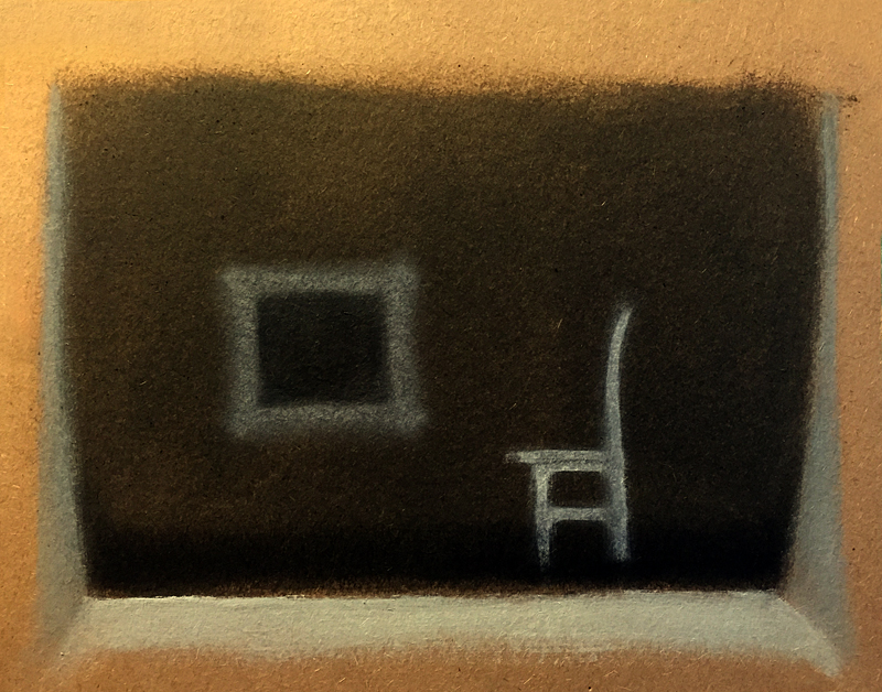 oil on archival KONA rag paper