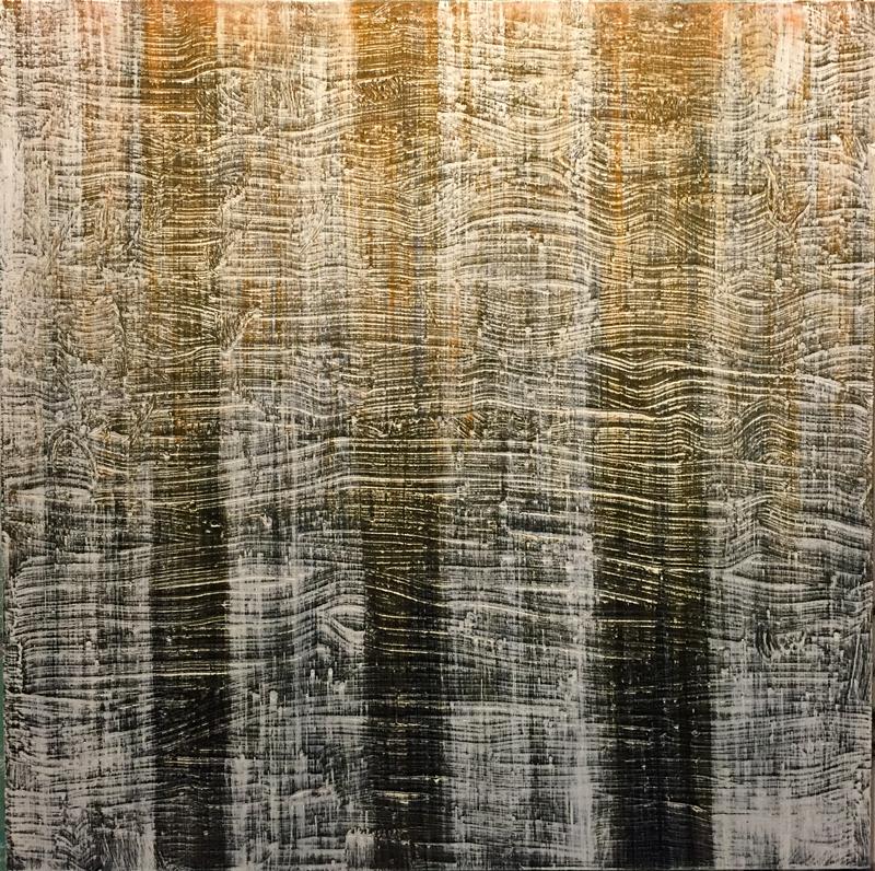 "Oil on canvas, 48""X48"""