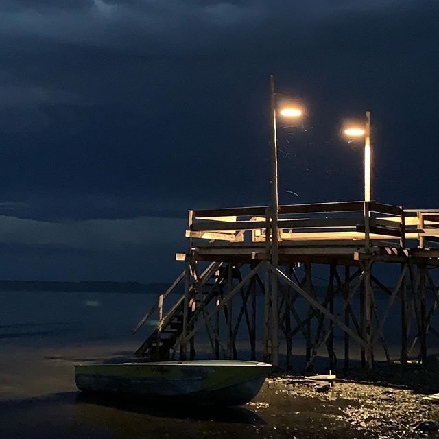 Night Pier #onset #cinematography #cinematographer #filmproduction #nofilter #lucmontpelliercsc #lucmontpellier