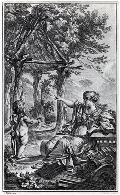 """""""Allegory of Architecture Returning to its Natural Model"""" M.-A. Laugier, (1755)"""