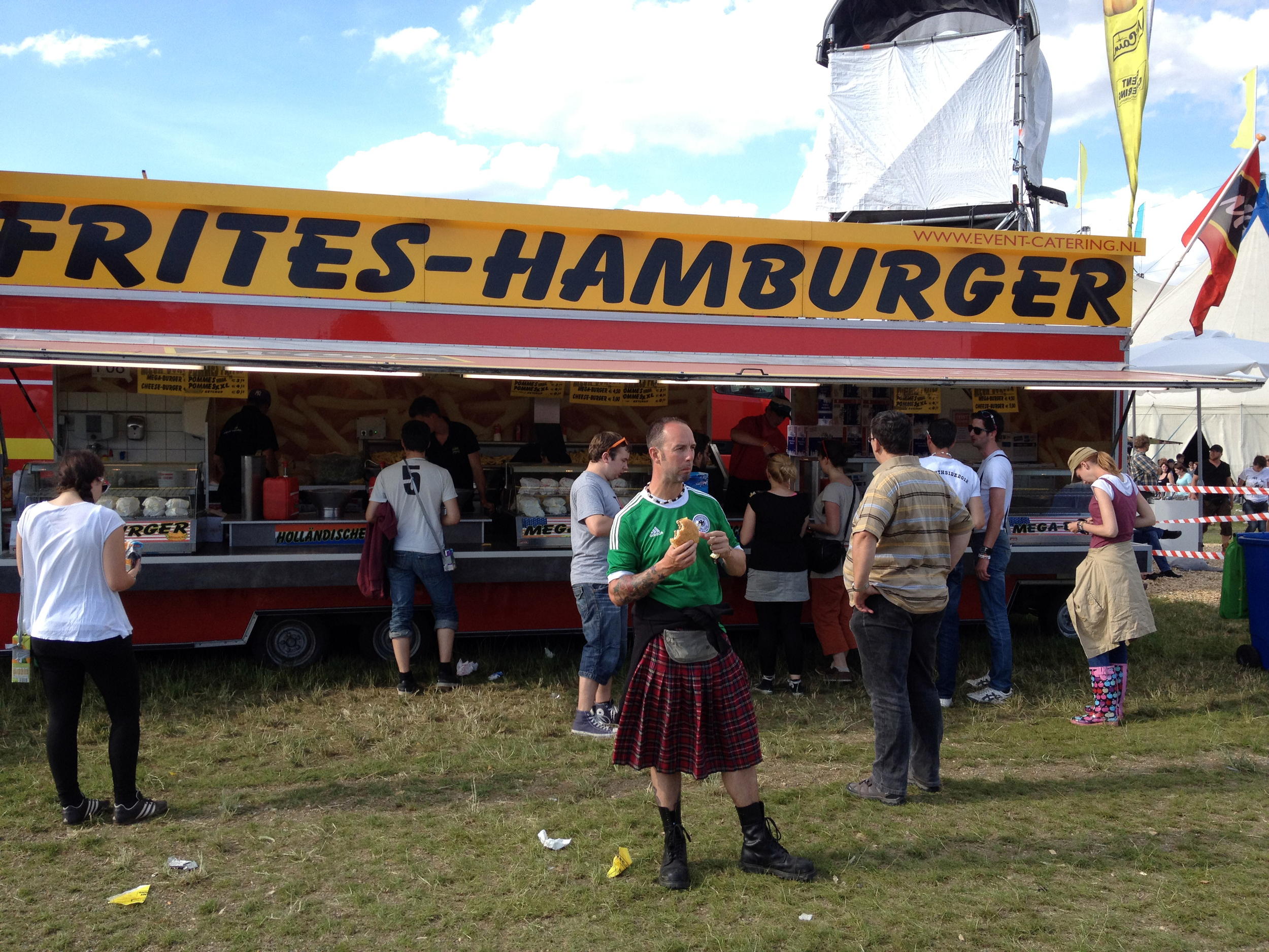 Hungry Dude - Southside festival, German Scottish dudeness - Gertish or Scerman?