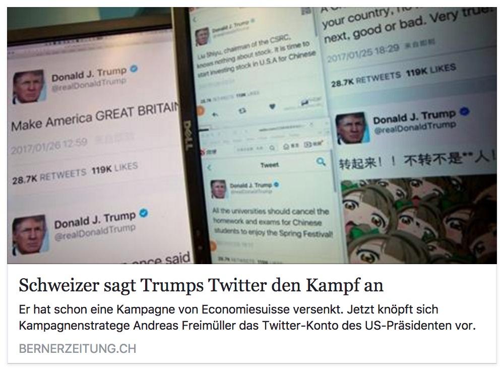 Andreas Freimüller attackiert die Meinungsfreiheit