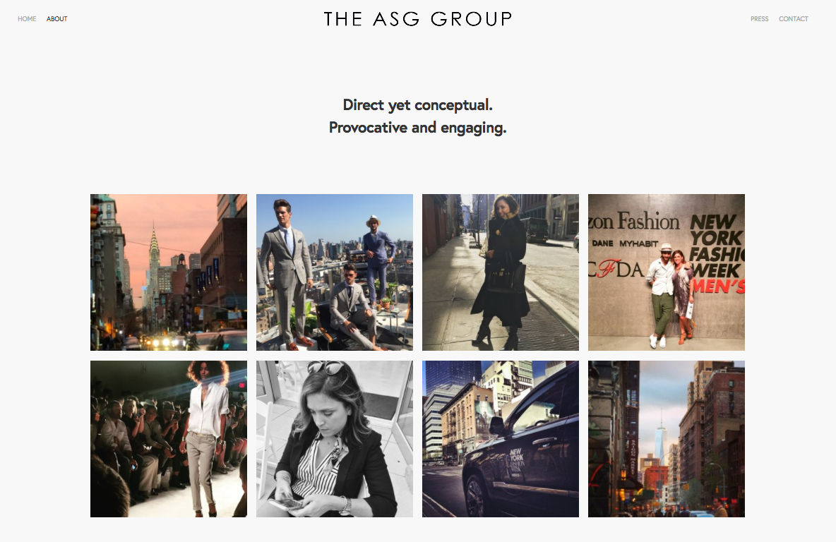 THE ASG GROUP