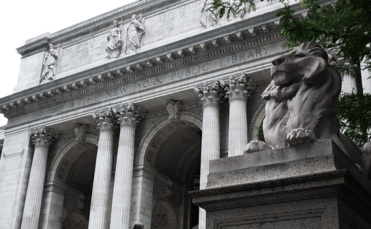 New York Public Library South Court Addition - performed as architect for Davis Brody Bond
