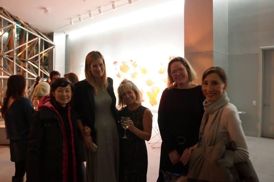 Lisa, Beatriz Elorzo, Susan Nelly, Elizabeth Norman, and Chi