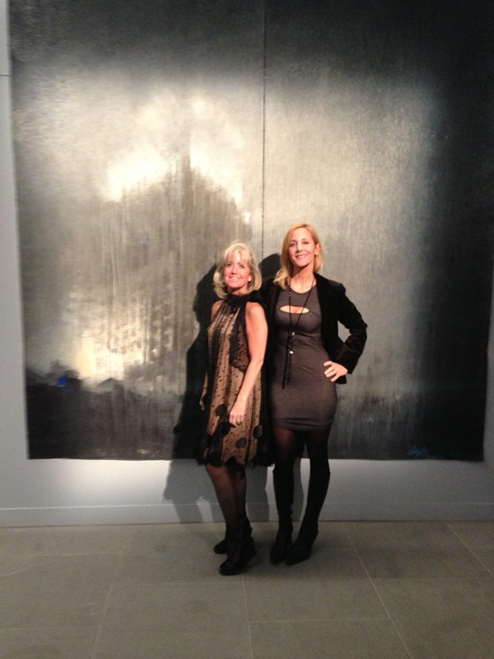 Curators Susan Nelly, and Ronni Anderson