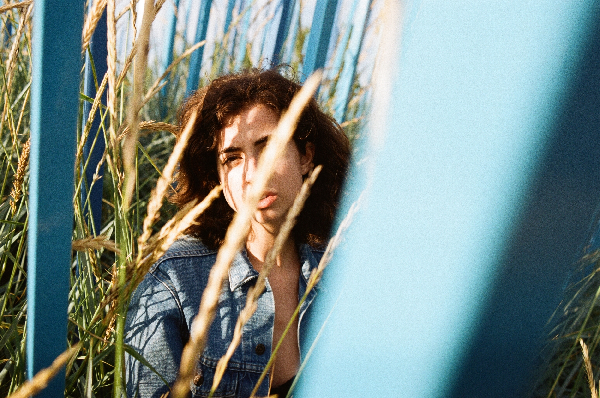 bbblue: film portraits by pam lau