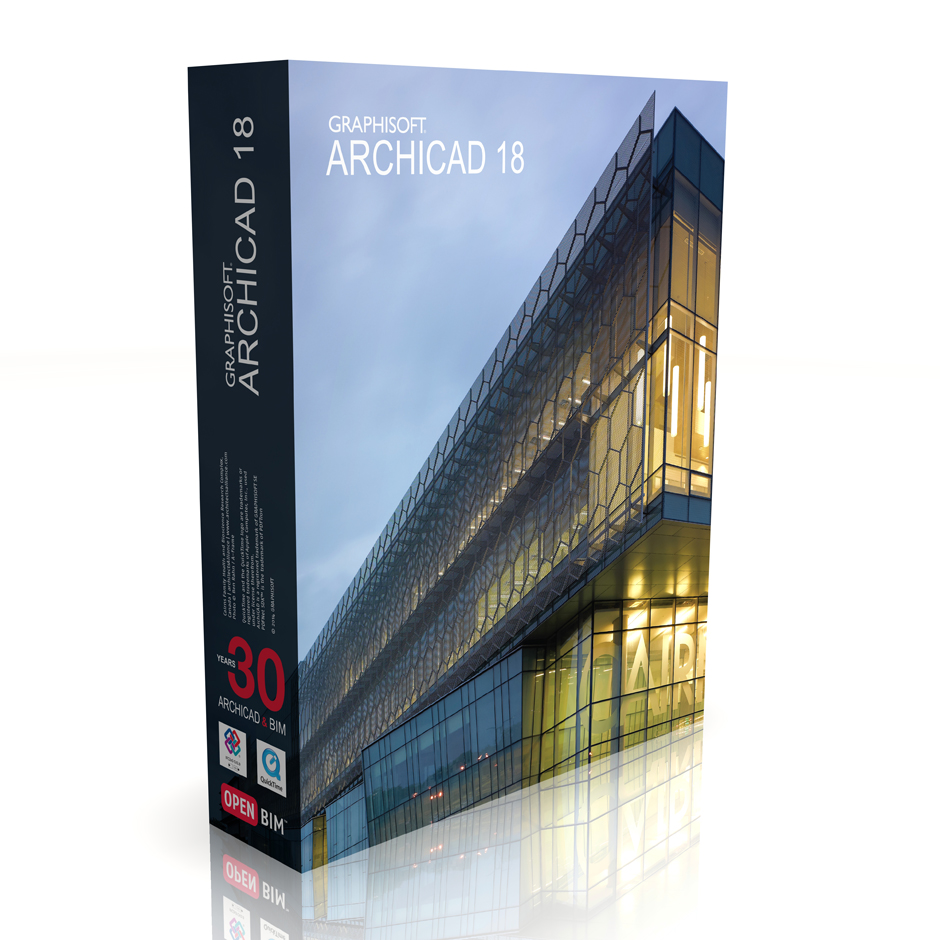 ArchiCAD 18 |  Single License  Price: 3000€ + subscription 480€