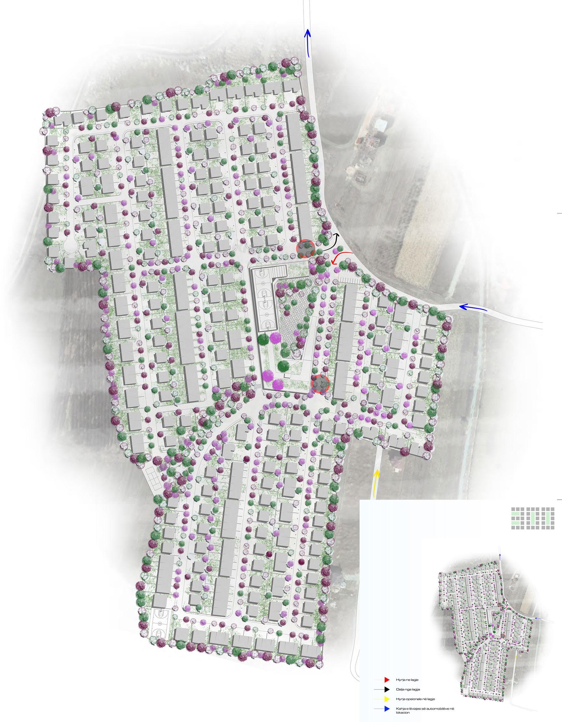 Zgjidhja urbane e Lagjes 300
