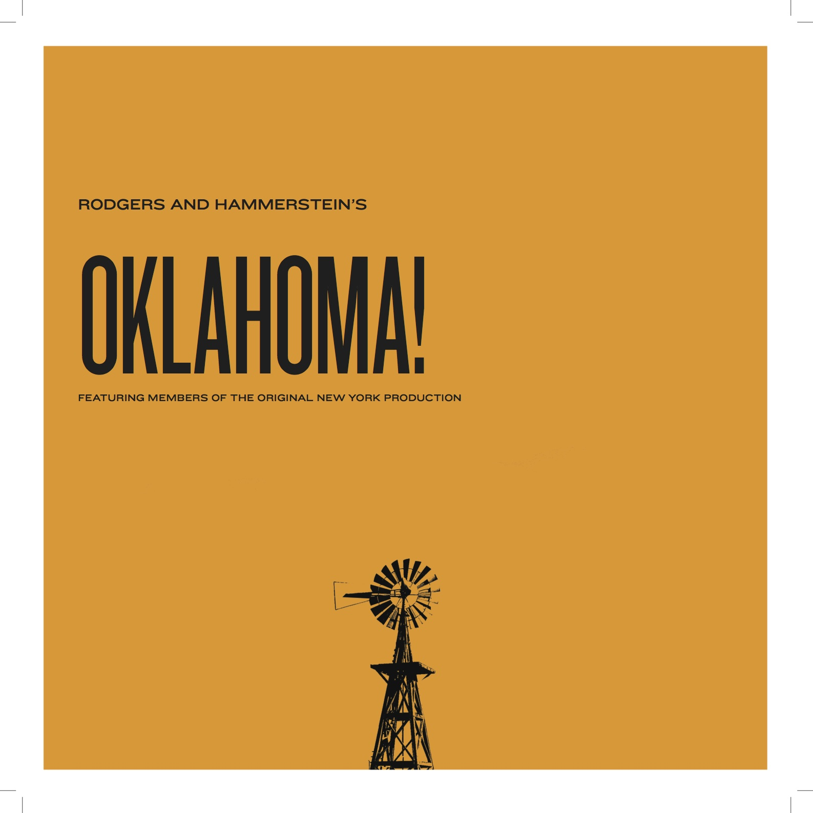 """Rogers and Hammerstein """"Oklahoma!"""""""