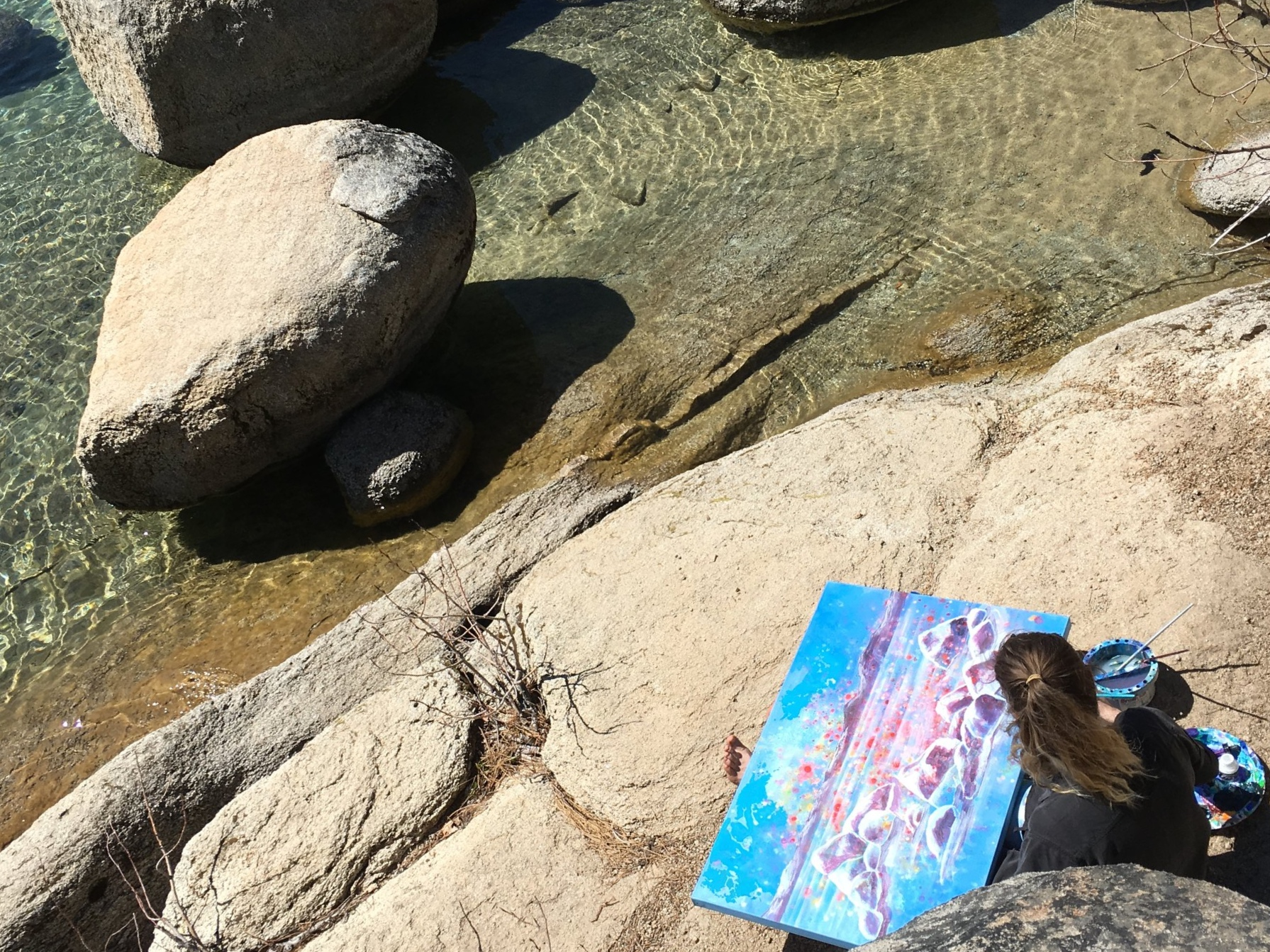 Art of Lake Tahoe - Paintings by Kristen Pobatschnig