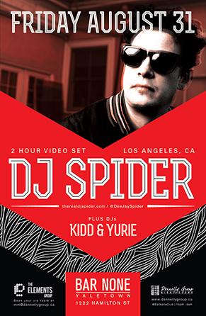 DJ Spider in Vancouver