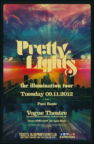 Pretty Lights Vancouver