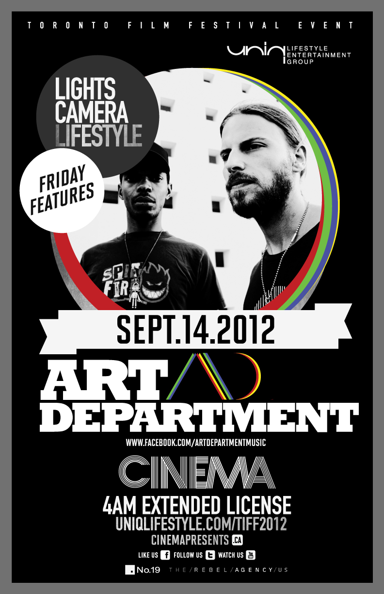 Art Department at Cinema Toronto