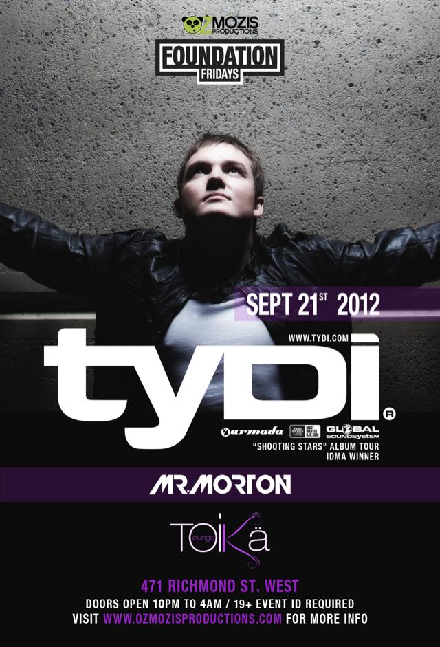 Tydi in Toronto