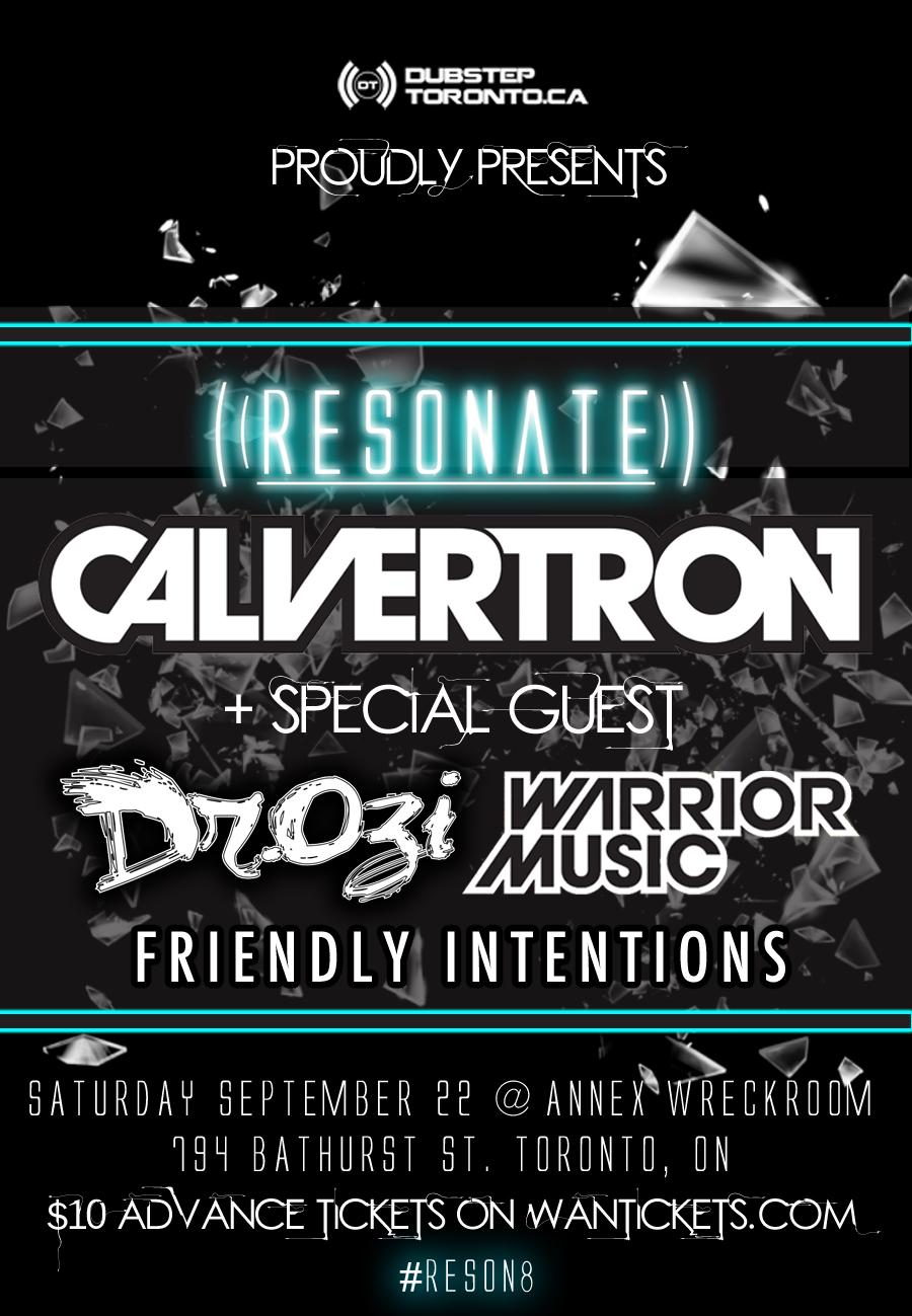 Calvertron in Toronto