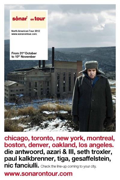 Sonar on Tour Toronto