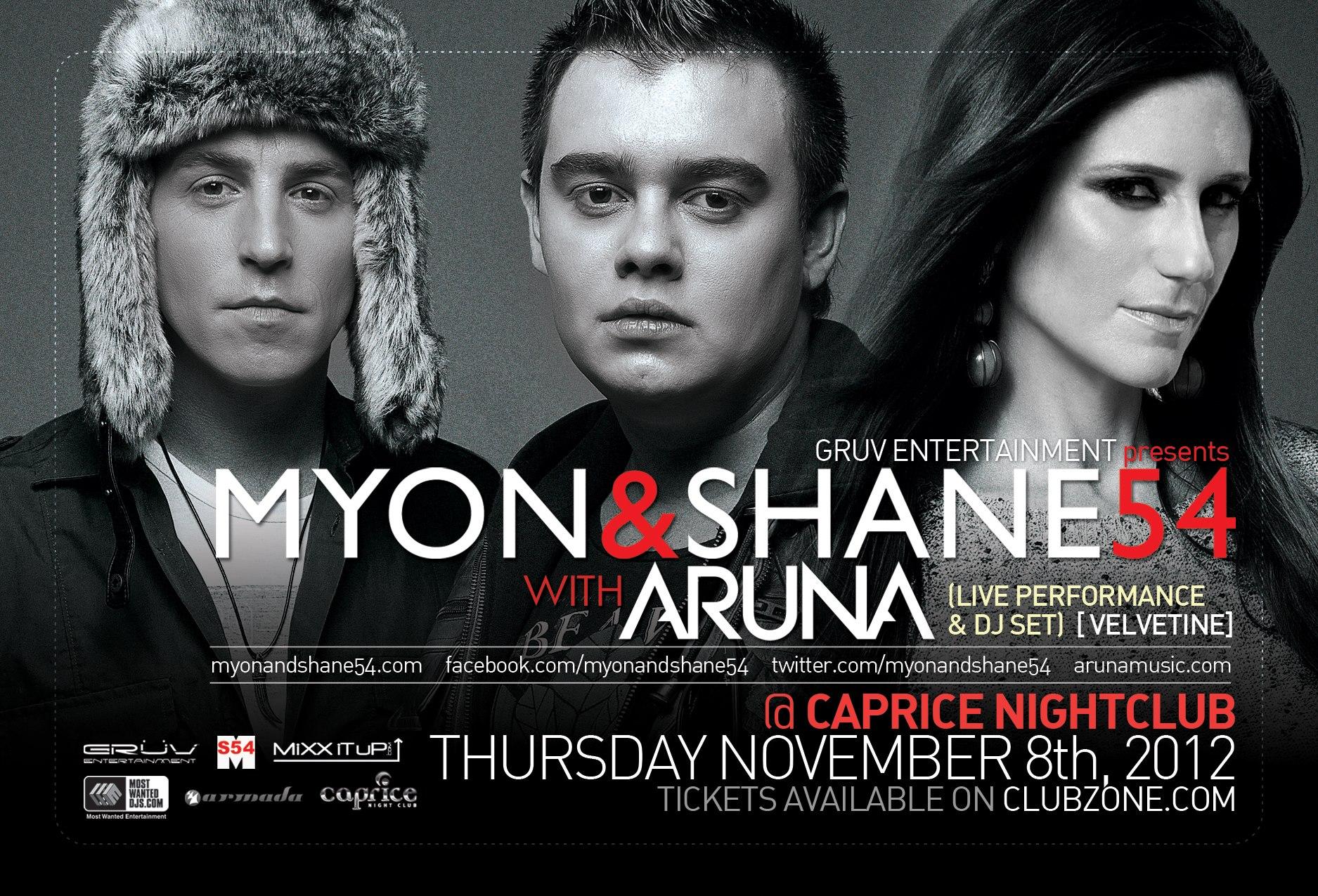 Myon & Shane 54 Aruna in Vancouver