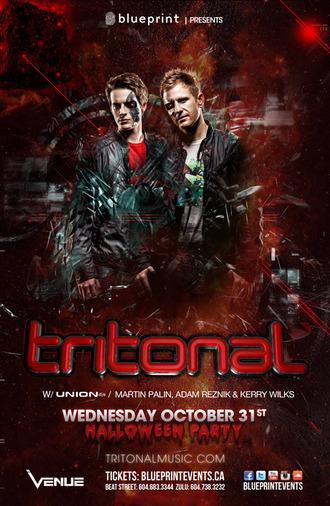 Tritonal Venue Nightclub Vancouver