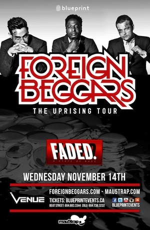 Foreign Beggars Vancouver Venue