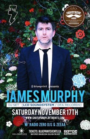James Murphy DJ Set Celebrities Vancouver