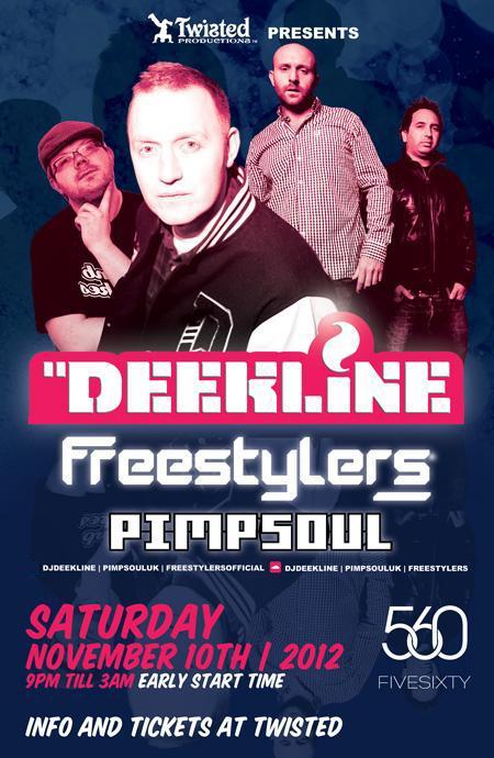 Deekline Freesylters Pimpsoul fivesixty Vancouver