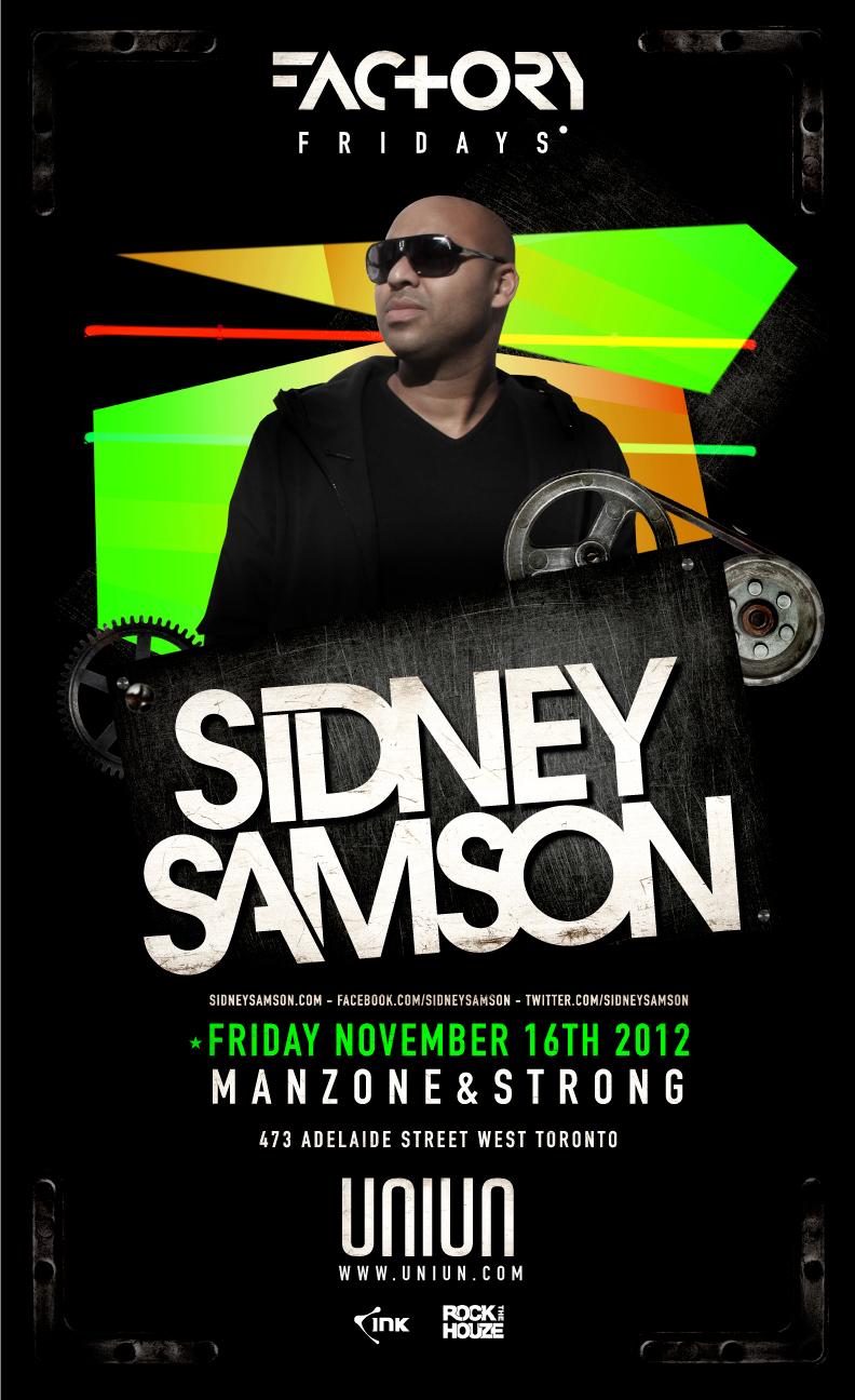 Sidney Samson Uniun Toronto