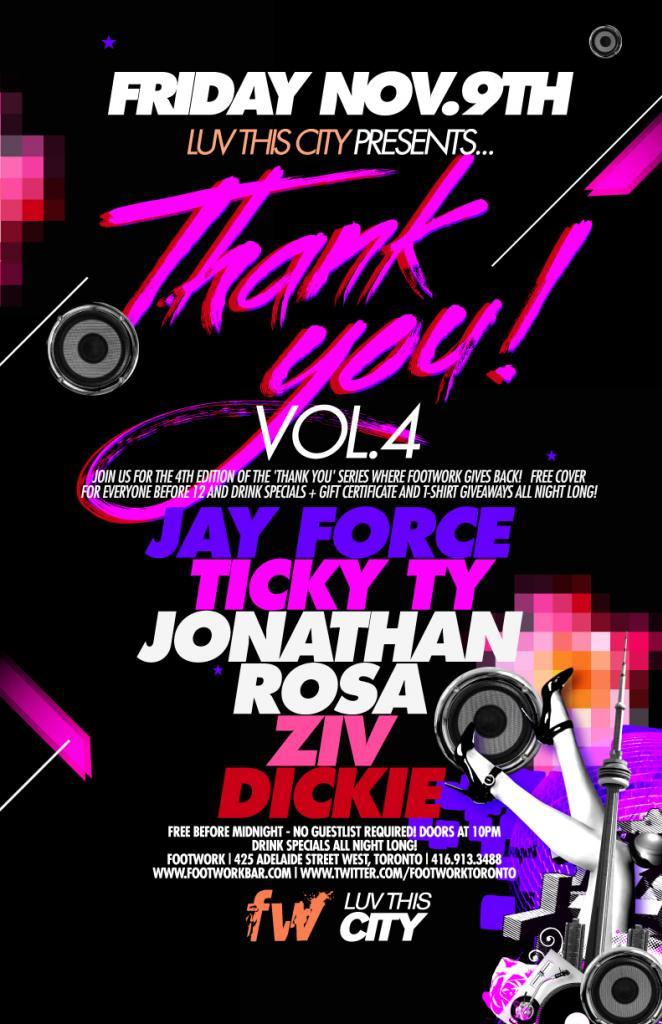 Jay Force Ticky Ty Footwork Nightclub